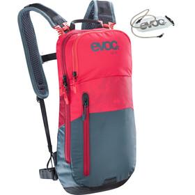 EVOC CC - Sac à dos - 6l + Bladder 2l gris/rouge